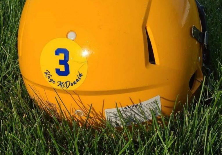 Junior High Helmet Back