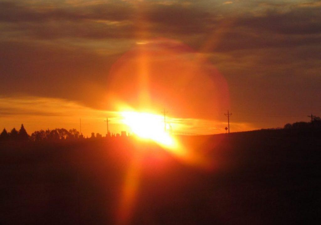 Lois Galles sunrise November 1