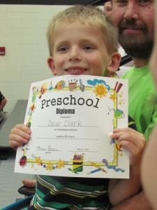 Lawton-Bronson Preschool Graduation