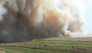 Anthon Field Fire -- Sunday, October 11, 2020
