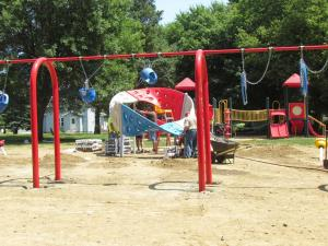 New Playground Installation in Kingsley