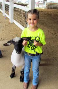 Woodbury County Fair 2019 -- Bottle Lamb Show