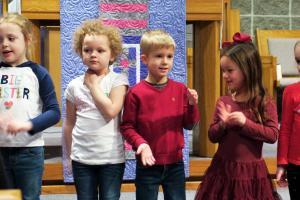 Moville Catholic Church Presents Christmas Program