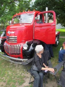 Glen Bappe's 1946 COE (Cab over engine)