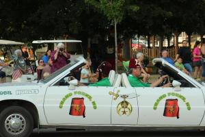 Shrine Parade in Moville -- August 12, 2021