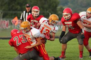 Football -- River Valley vs. Clay Central Everly