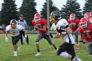 Football -- River Valley vs. Kingsley-Pierson
