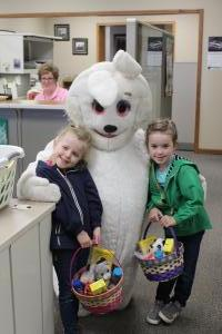 Easter Bunny at EGR in Moville (Easter week 2019)