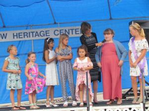 Interviewing the Little Miss Kingsley Contestants