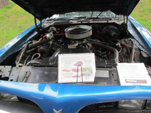 Max Dunnington's car's engine
