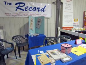 The Record's booth