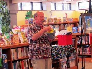 Magic Show at Kingsley Library -- June 12, 2019